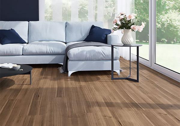 Linoleum Impressa european walnut Sappl Wohnkultur (c)Forbo Flooring