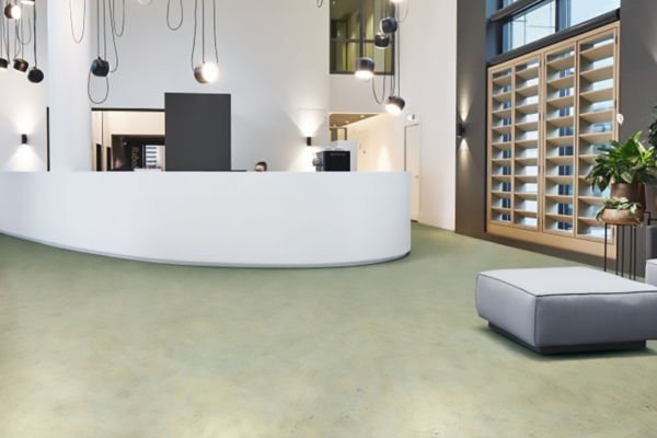 Linoleum Marmoleum Splash Sappl Wohnkultur (c)Forbo Flooring