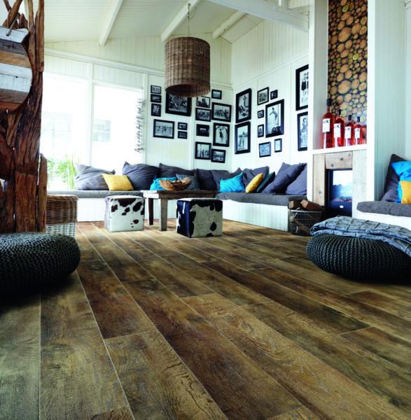 Vinylboden COUNTRY OAK Sappl Wohnkultur (c)Moduleo