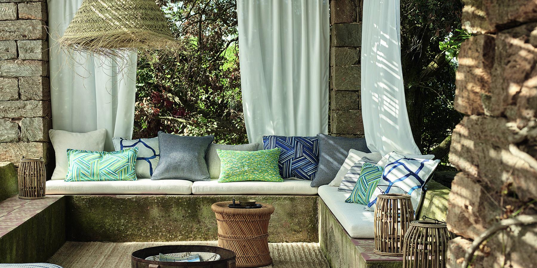 Outdoor Wohnoase Vorhänge 1