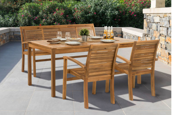 terrassenmöbel holz sappl wohnkultur